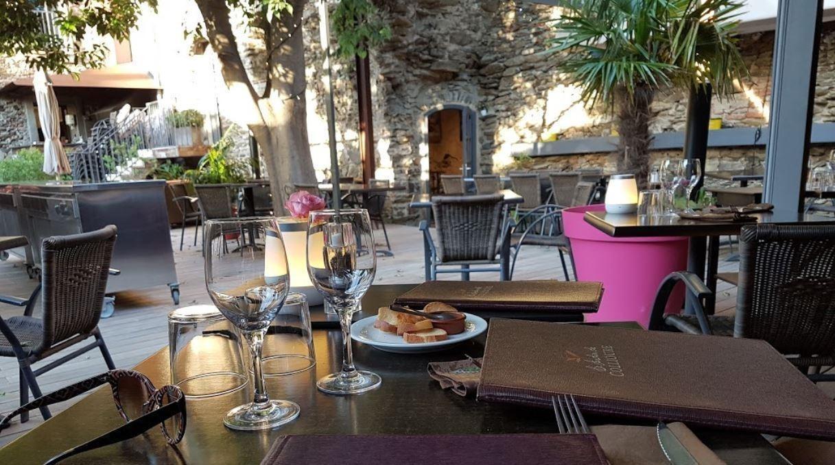Nos tablissements collioure perpignan argel s sur mer le jardin de collioure - Restaurant le france port vendres ...